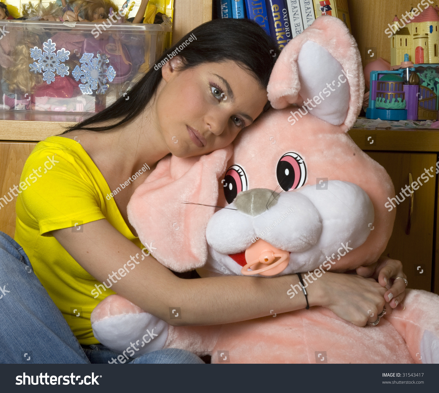 Girl With Huge Toy photo 22
