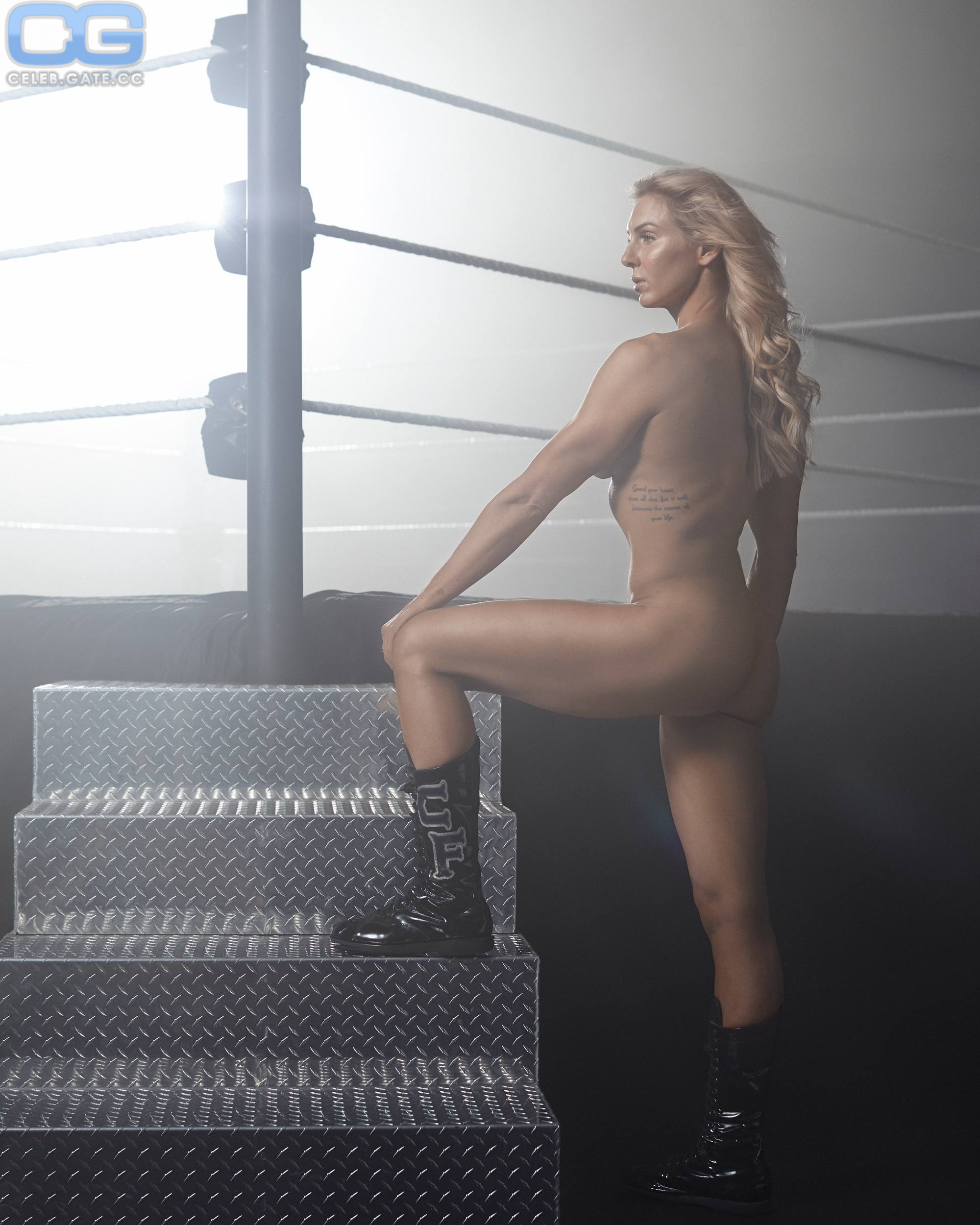 Charolette Flair Naked photo 12