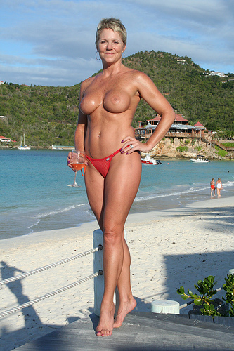 St Barths Topless photo 23