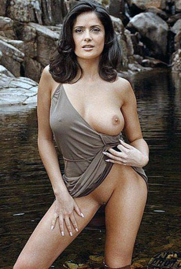 Naked Pictures Of Salma Hayek photo 11