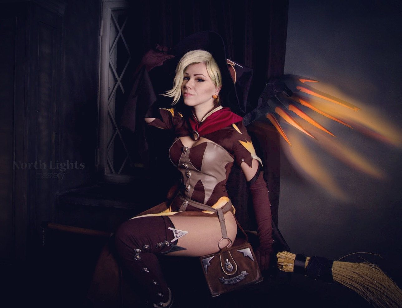 Mercy Witch Outfit photo 11