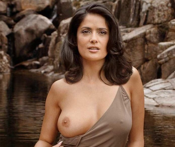 Naked Pictures Of Salma Hayek photo 25