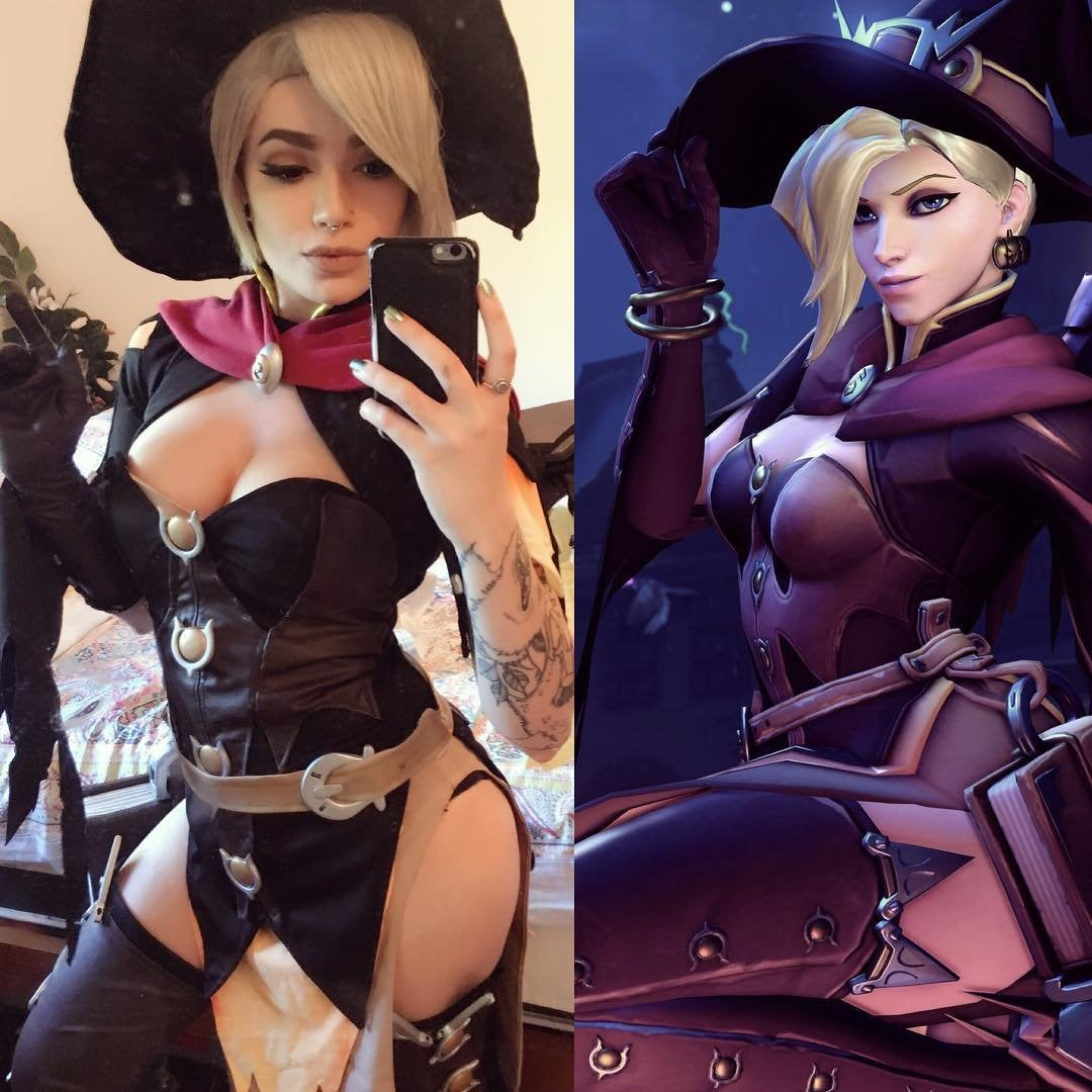 Mercy Witch Outfit photo 29