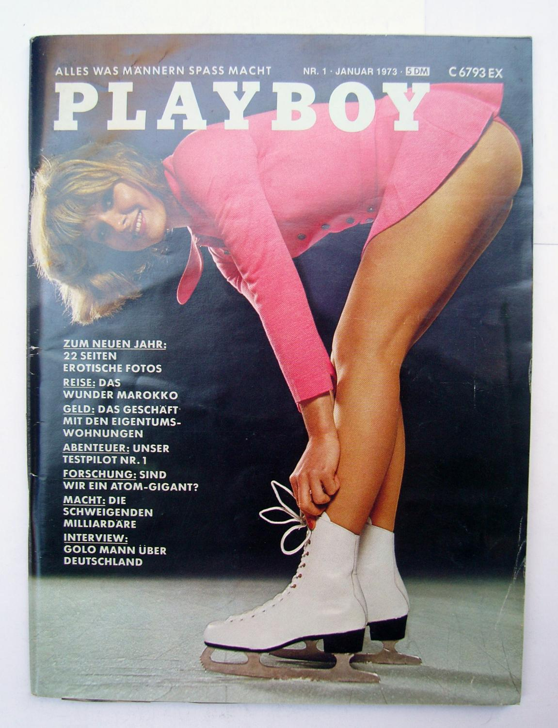Ice Skater In Playboy photo 8