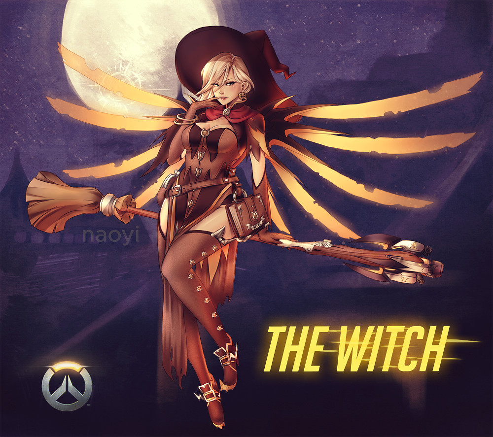 Mercy Witch Outfit photo 10