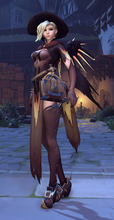 Mercy Witch Outfit photo 23