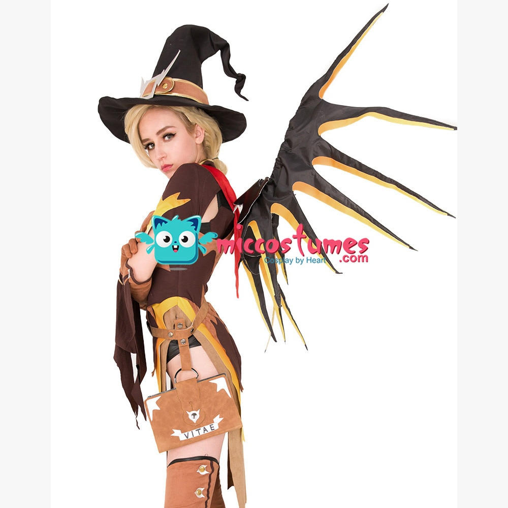 Mercy Witch Outfit photo 13