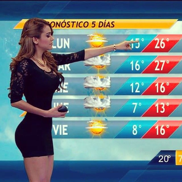 Garcia Mexican Weather Girl photo 30