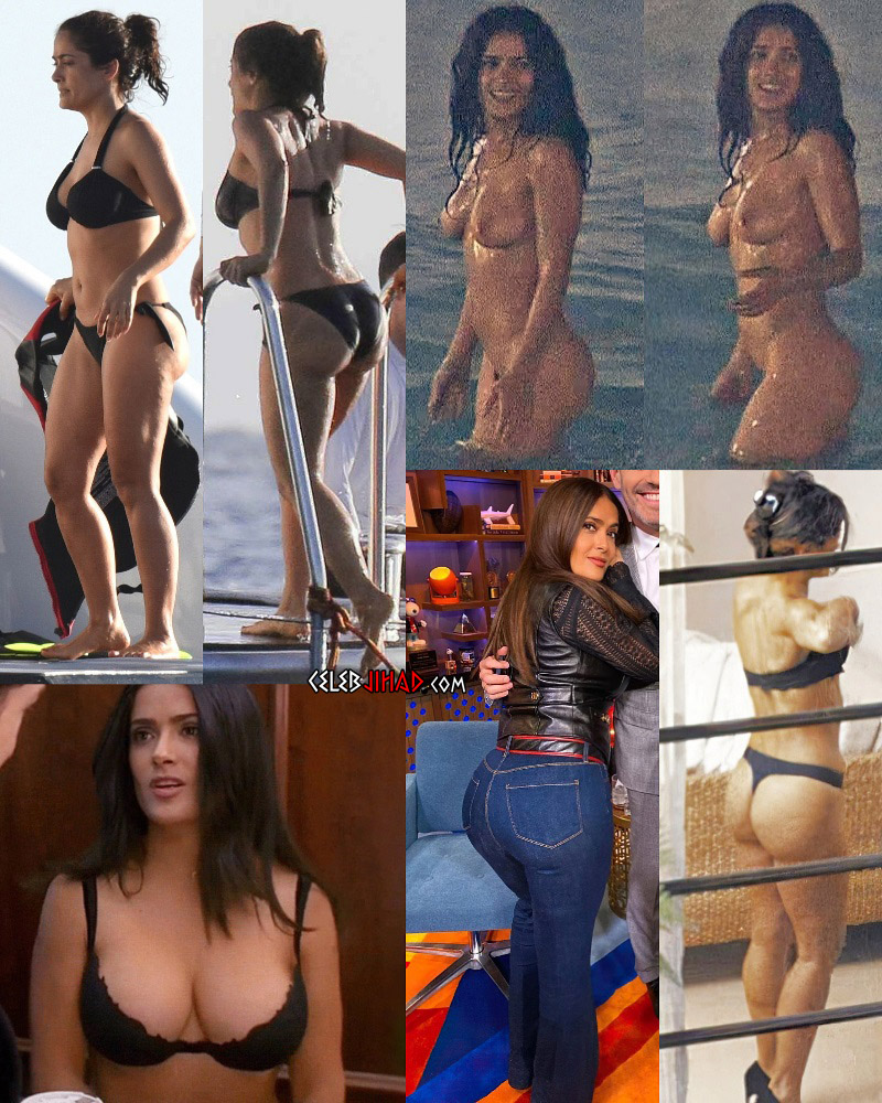 Naked Pictures Of Salma Hayek photo 21