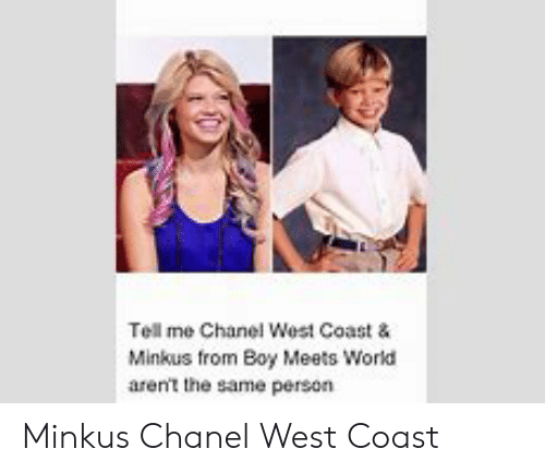 Chanel West Coast And Boy Meets World photo 1