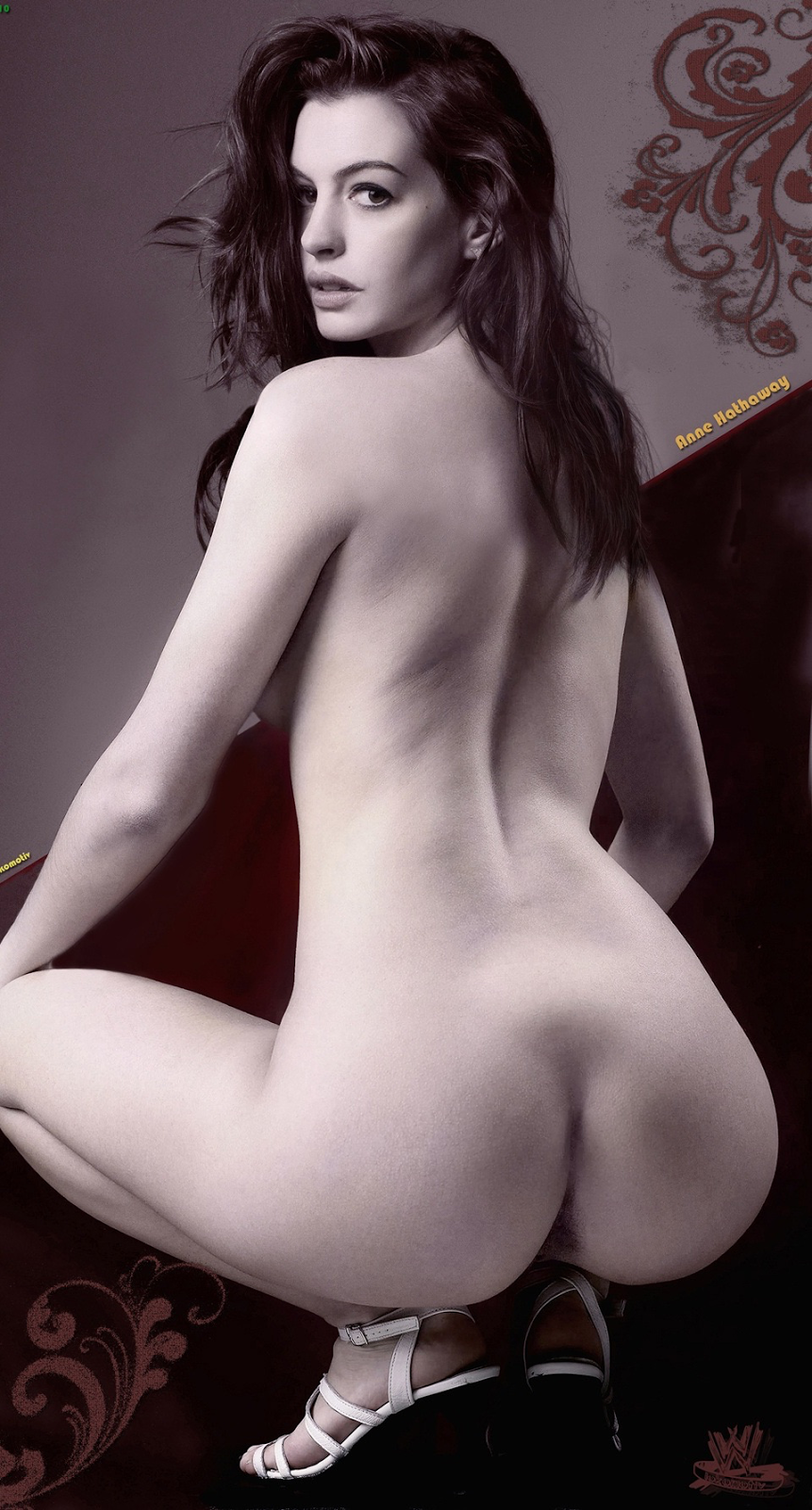 Anne Hathaway Naked Pussy photo 20