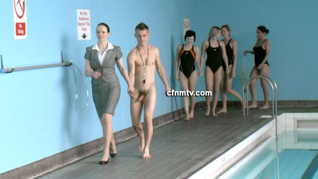 Naked Swimming Porn photo 19