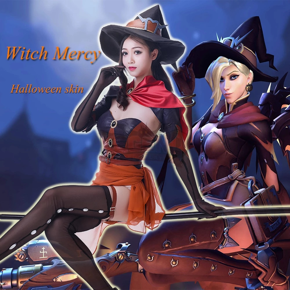 Mercy Witch Outfit photo 4