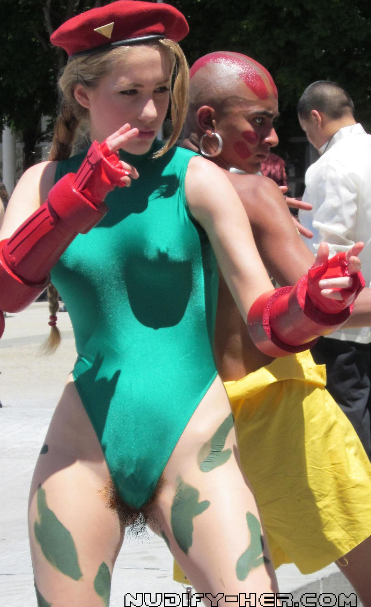 Street Fighter Nude Cosplay photo 2