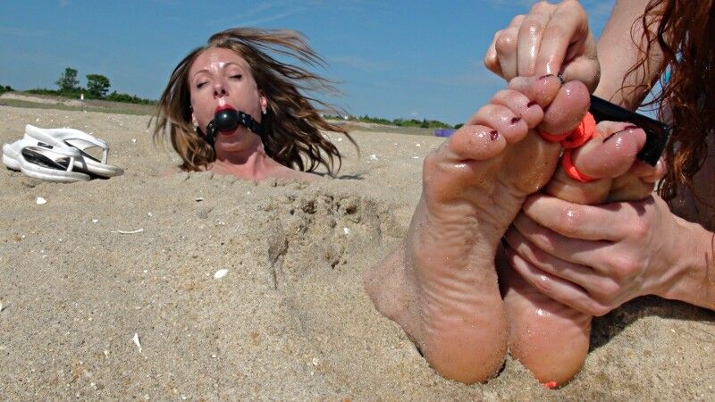 Buried In Sand Porn photo 3