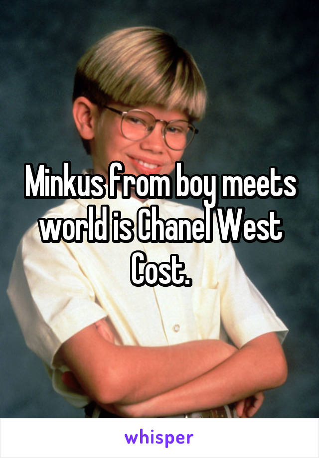 Chanel West Coast And Boy Meets World photo 21