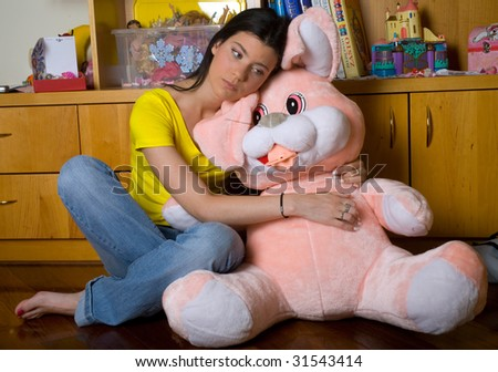Girl With Huge Toy photo 28