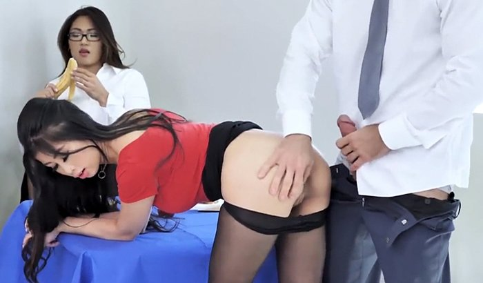 Asian Teen Pounded photo 29