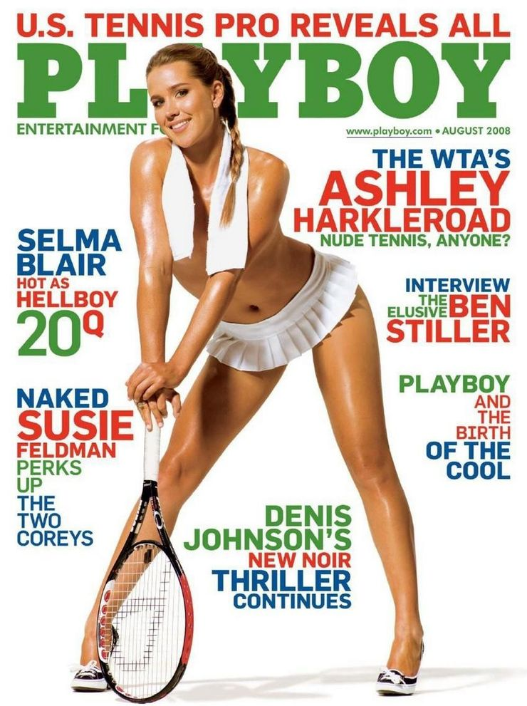 Ice Skater In Playboy photo 3
