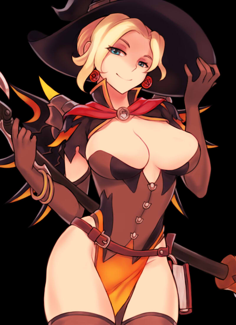 Mercy Witch Outfit photo 17
