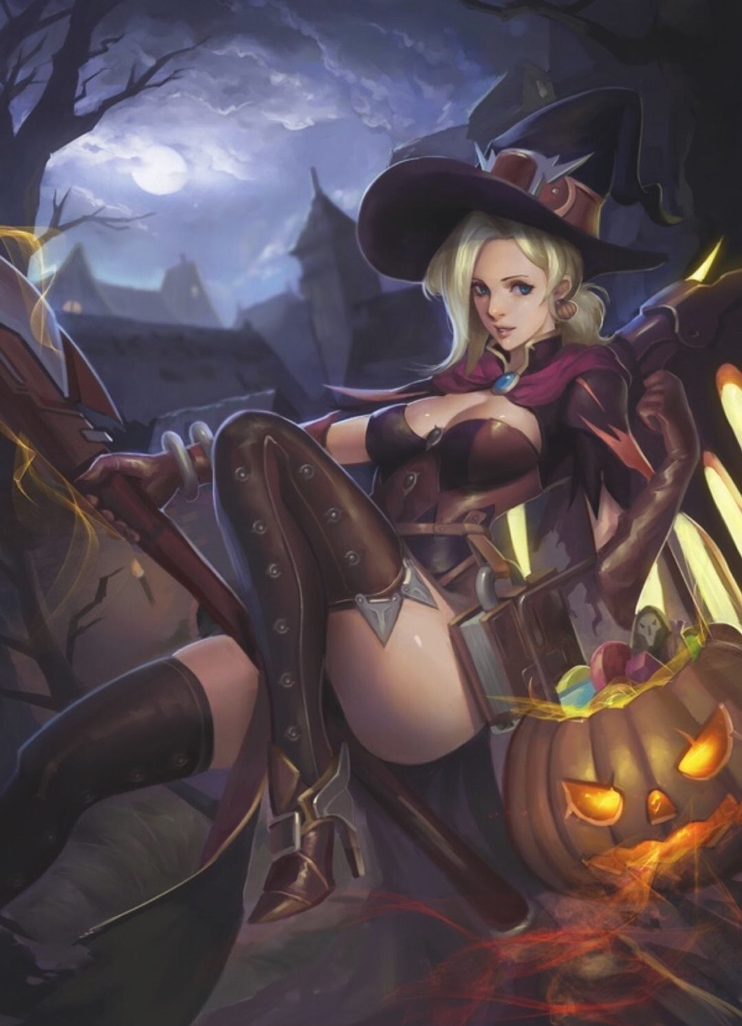 Mercy Witch Outfit photo 16