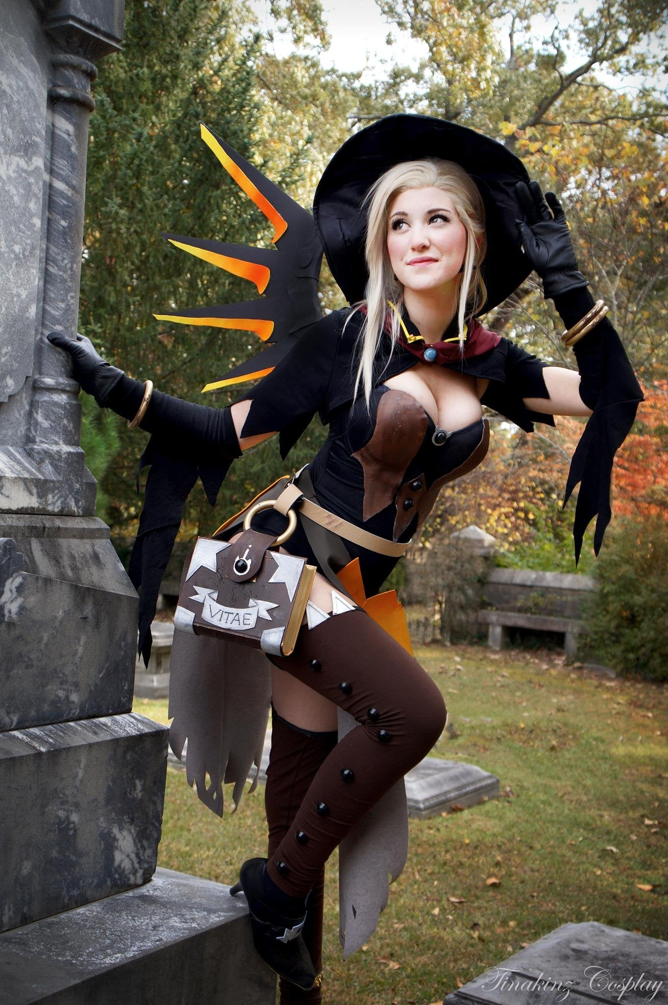 Mercy Witch Outfit photo 27