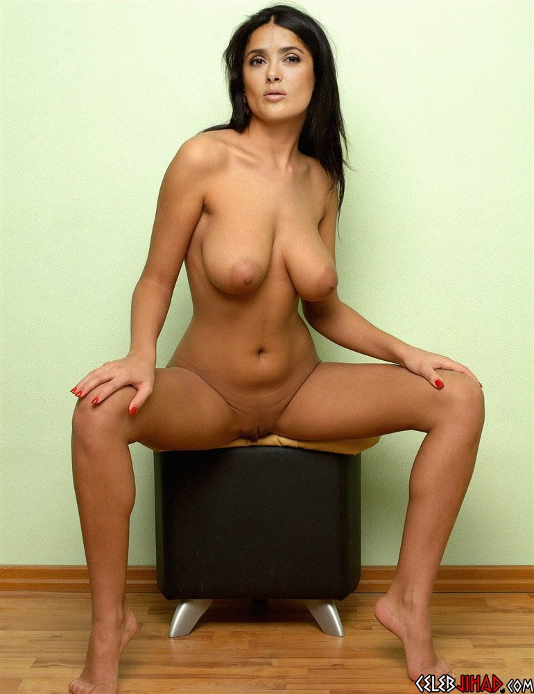 Naked Pictures Of Salma Hayek photo 19
